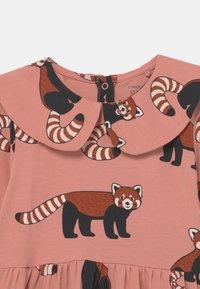 Lindex - MINI DRESS BIG COLLAR RED PANDA - Jersey dress - dusty pink - 2