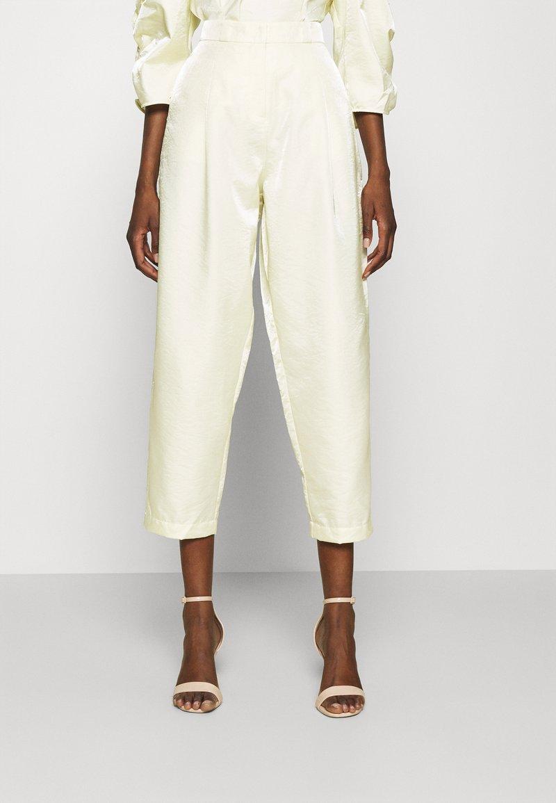 Stella Nova - Spodnie materiałowe - sweet yellow
