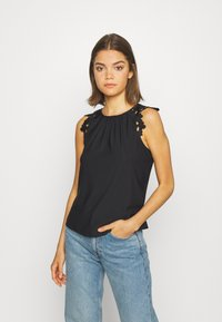 ONLY - ONLSILJA LIFE - T-shirt basic - black - 1