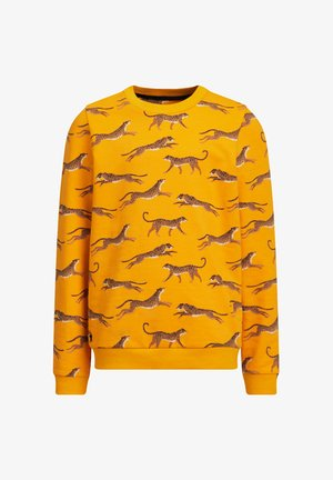 MET LUIPAARDPRINT - Sweater - ochre yellow