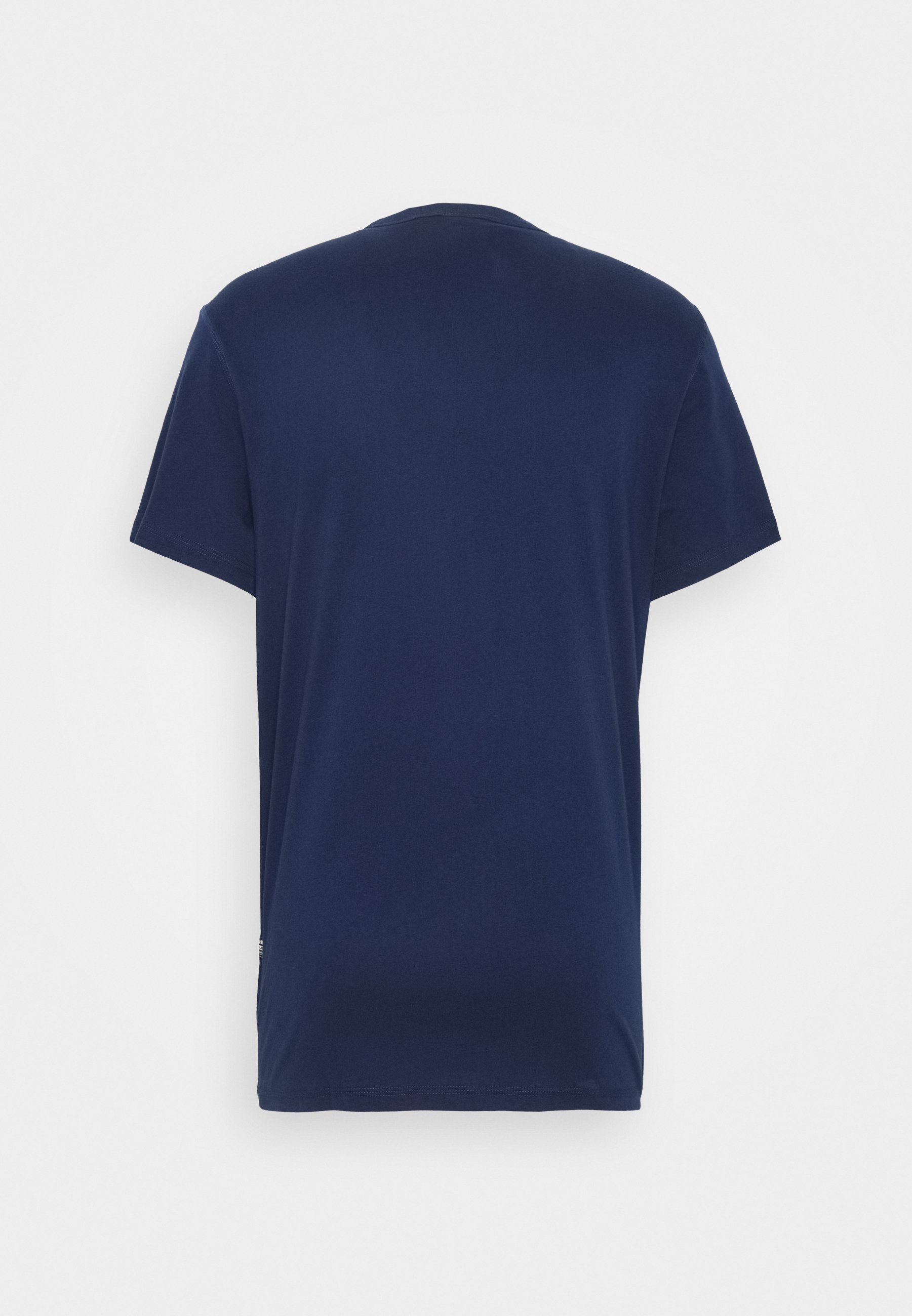 G-star Wavy Logo Originals R T S\s - T-shirts Med Print Compact Peach/imperial Blue