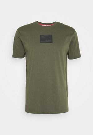 RUBBER PATCH - T-shirts print - dark olive