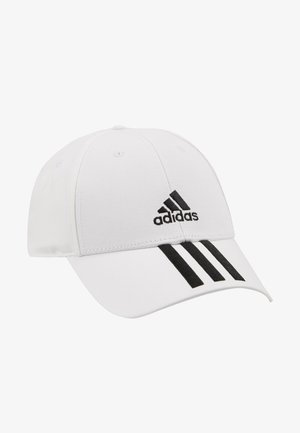 3STRIPES BASEBALL COTTON TWILL SPORT - Gorra - white/black/black