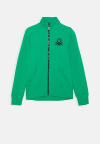 Benetton - Mikina na zip - green - 0