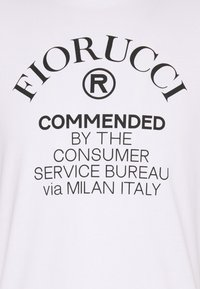 Fiorucci - COMMENDED - Print T-shirt - white - 2
