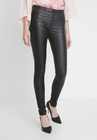Dr.Denim Tall - Vaqueros pitillo - black - 0