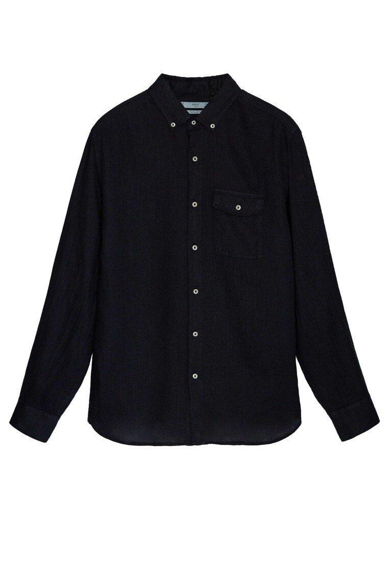 Mango - CALCUTA - Shirt - schwarz