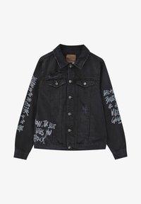 PULL&BEAR - Giacca di jeans - black - 6