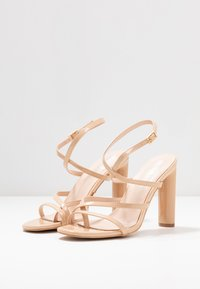 BEBO - PETAL - High heeled sandals - nude - 4