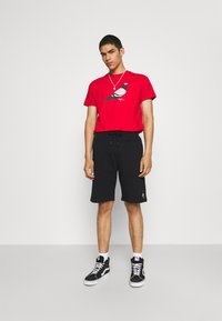 STAPLE PIGEON - PIPED UNISEX - Shorts - black - 1