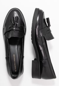Dorothy Perkins - LITTY LOAFER - Scarpe senza lacci - black - 3