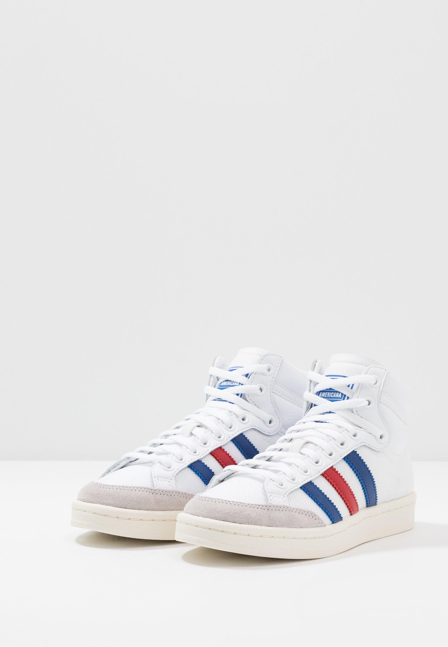 AMERICANA - Baskets montantes - footwear white/collegiate royal/scarlet