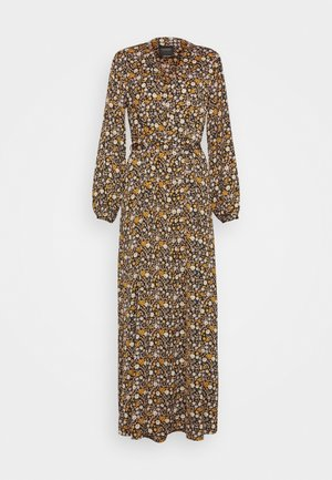 PRINTED WRAPOVER DRESS - Maxi dress - combo