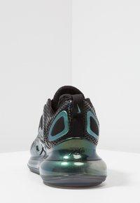 Nike Sportswear - AIR MAX 720 - Trainers - black/laser fuchsia/anthracite - 3