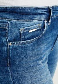 ONLY - ONLCARMEN - Jeans Skinny Fit - dark blue denim - 3