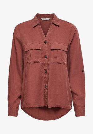 Button-down blouse - apple butter