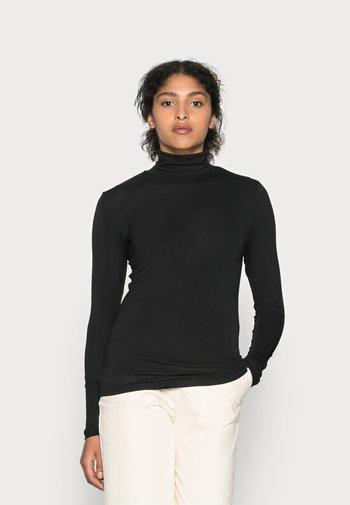 YOKO ROLLNECK - Long sleeved top - black deep