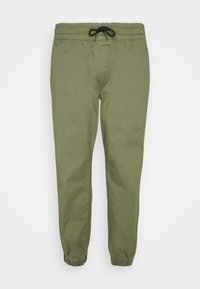 JJIGORDON JJLANE - Tracksuit bottoms - deep lichen green