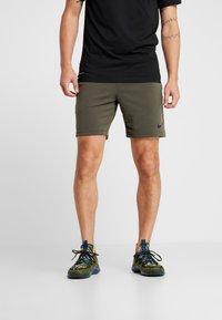 Nike Performance - DRY SHORT  - Pantalón corto de deporte - cargo khaki/black - 0
