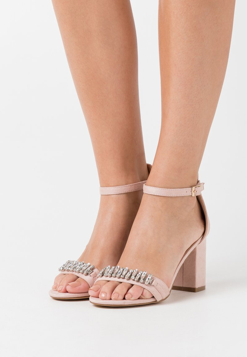 Glamorous Wide Fit - High Heel Sandalette - pink