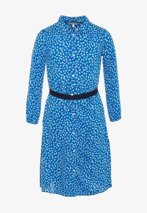 DITSY FLOWER PRINT DRESS  - Košilové šaty - blue