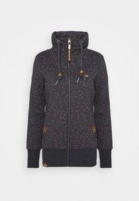 RYLIE ZIP BRACKEN - Zip-up hoodie - navy