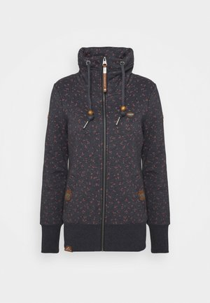 RYLIE ZIP BRACKEN - Zip-up hoodie - navy