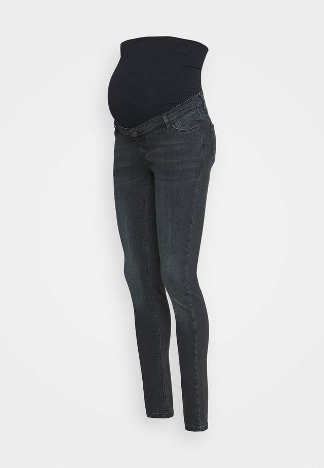 PANTS SKINNY - Jeansy Skinny Fit - dark blue