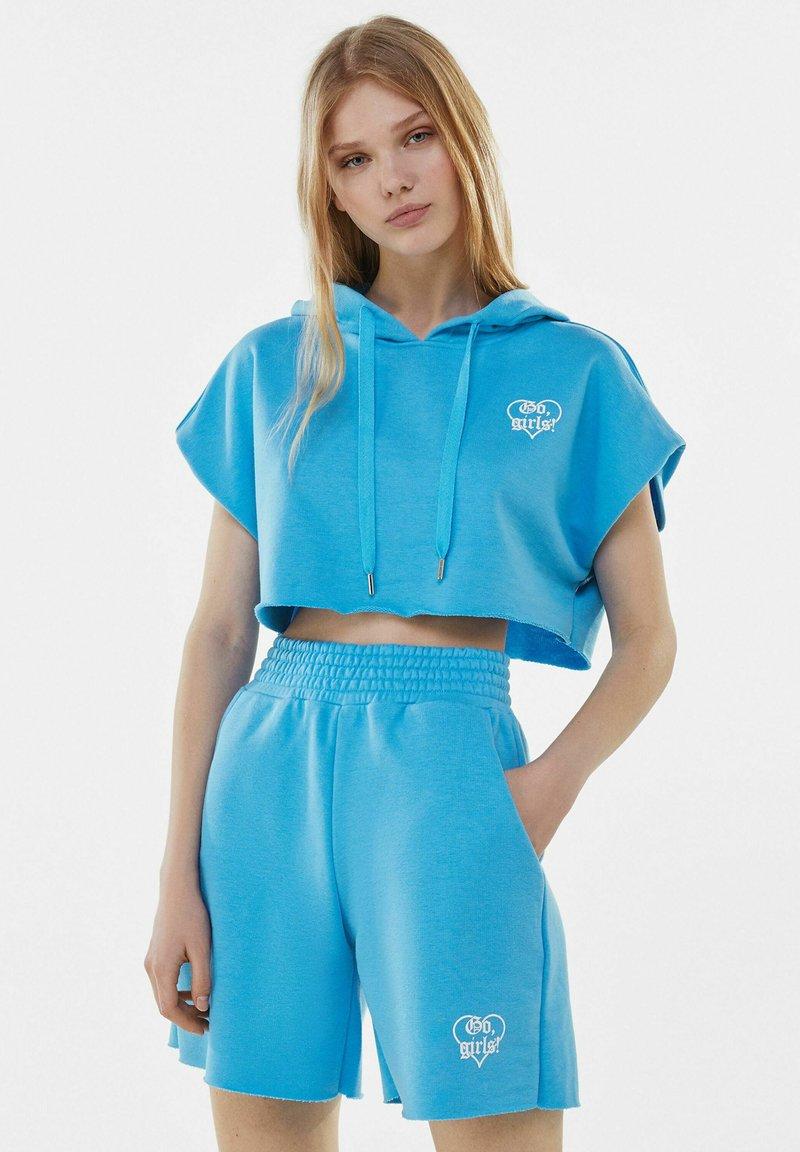 Bershka - Shorts - turquoise