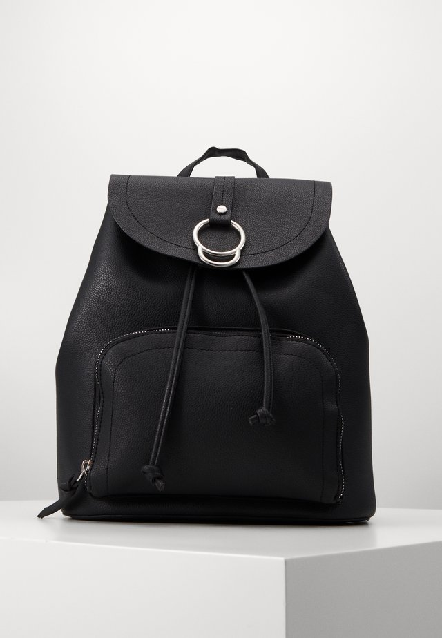 CLAUDE RING BACKPCK - Rucksack - black