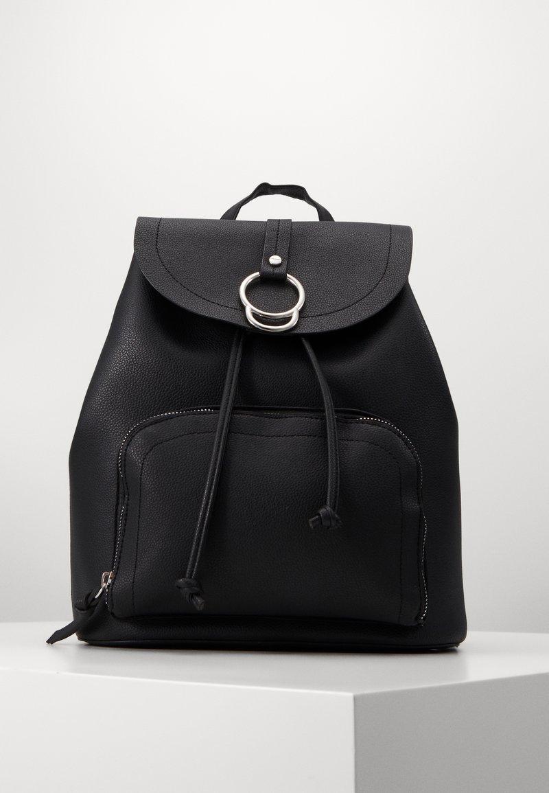 New Look - CLAUDE RING BACKPCK - Rygsække - black