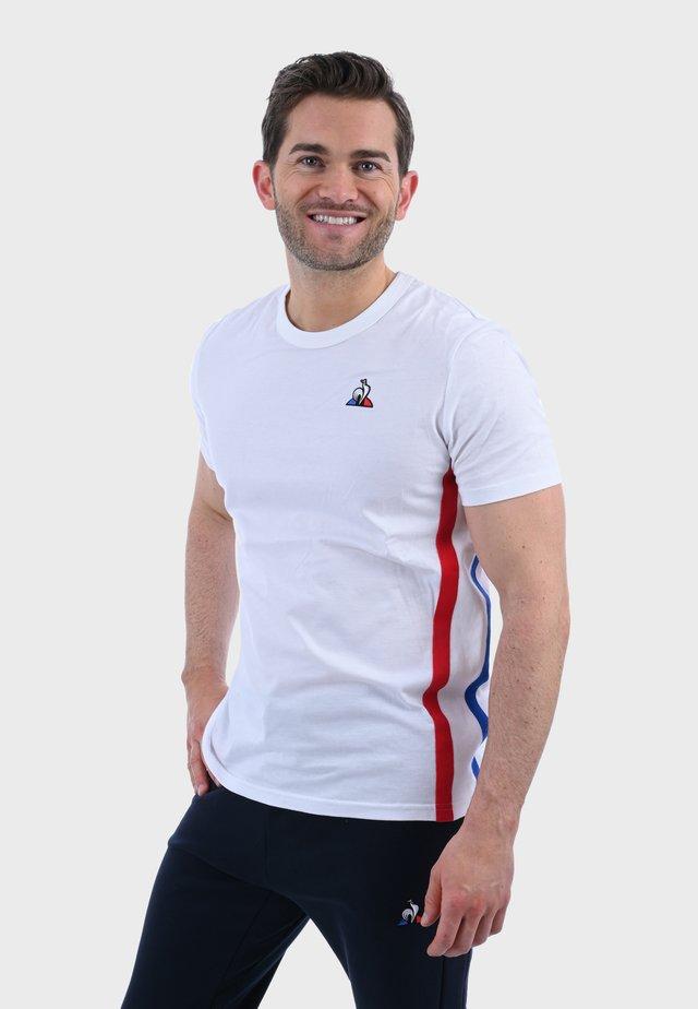 TRI SS N°2 - Camiseta estampada - white