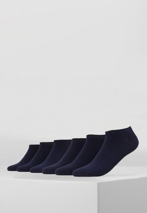 SHORTSNEAKER HIDDEN COLOR  6  PACK - Strumpor - dark blue