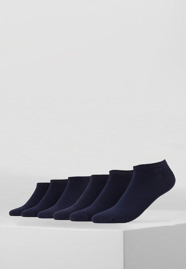 SHORTSNEAKER HIDDEN COLOR  6  PACK - Chaussettes - dark blue