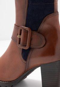 Caprice - Vysoká obuv - cognac - 2