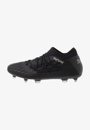 FUTURE 5.3 NETFIT FG/AG - Moulded stud football boots - black/asphalt