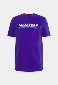 NAUTICA COMPETITION - VANG - Print T-shirt - purple - 0