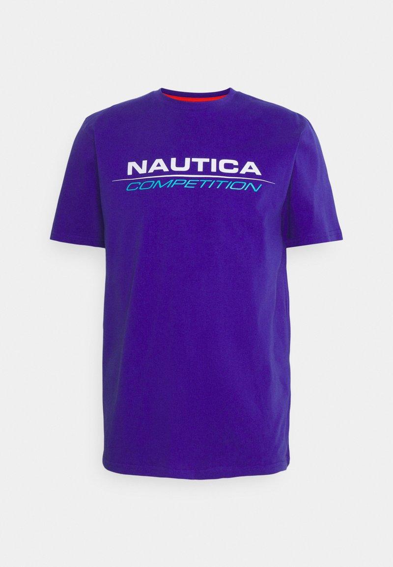 NAUTICA COMPETITION - VANG - Print T-shirt - purple