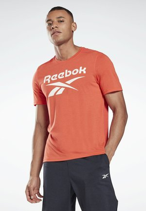 SPEEDWICK SPORT SHORT SLEEVE GRAPHIC TEE - T-shirt con stampa - red