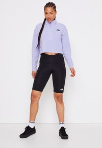 The North Face - GLACIER CROPPED ZIP - Fleecegenser - sweet lavender - 4