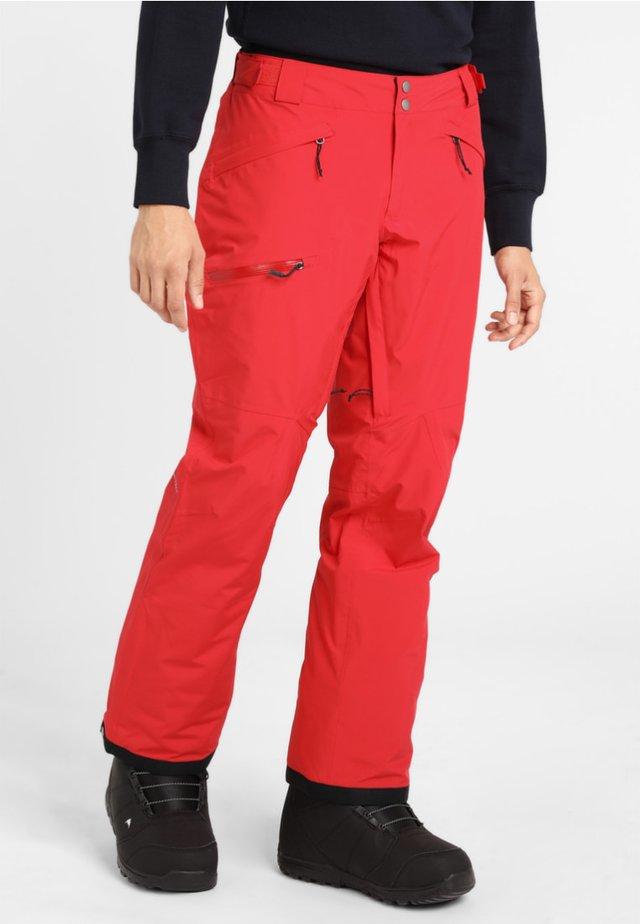 CUSHMAN CREST  - Pantaloni da neve - mountain red