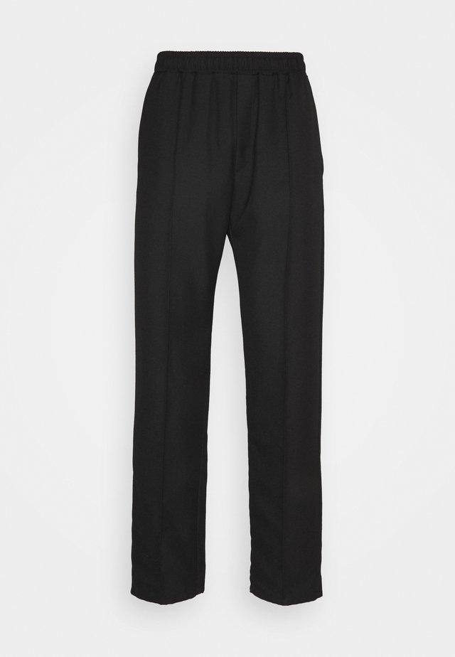 CHASE SUIT - Kalhoty - black