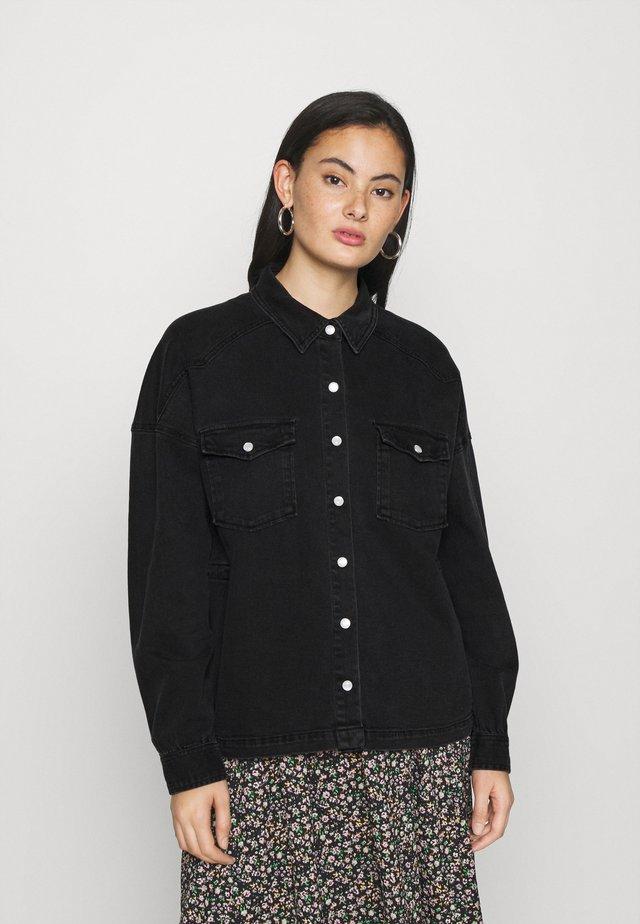 IHOLINA - Camisa - washed black