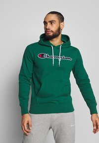 Champion - ROCHESTER HOODED - Bluza z kapturem - dark green - 0