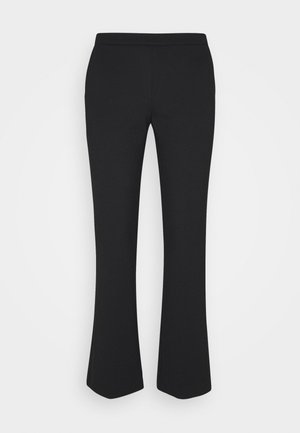 TANNY CROPPED PANTS - Bukser - black