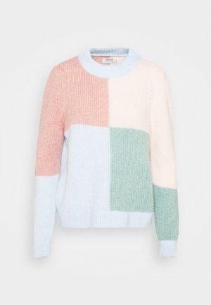 ONLMARIAH - Pullover - blue/pink tint/rose daw