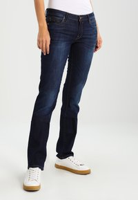 edc by Esprit - Straight leg jeans - blue dark wash - 0