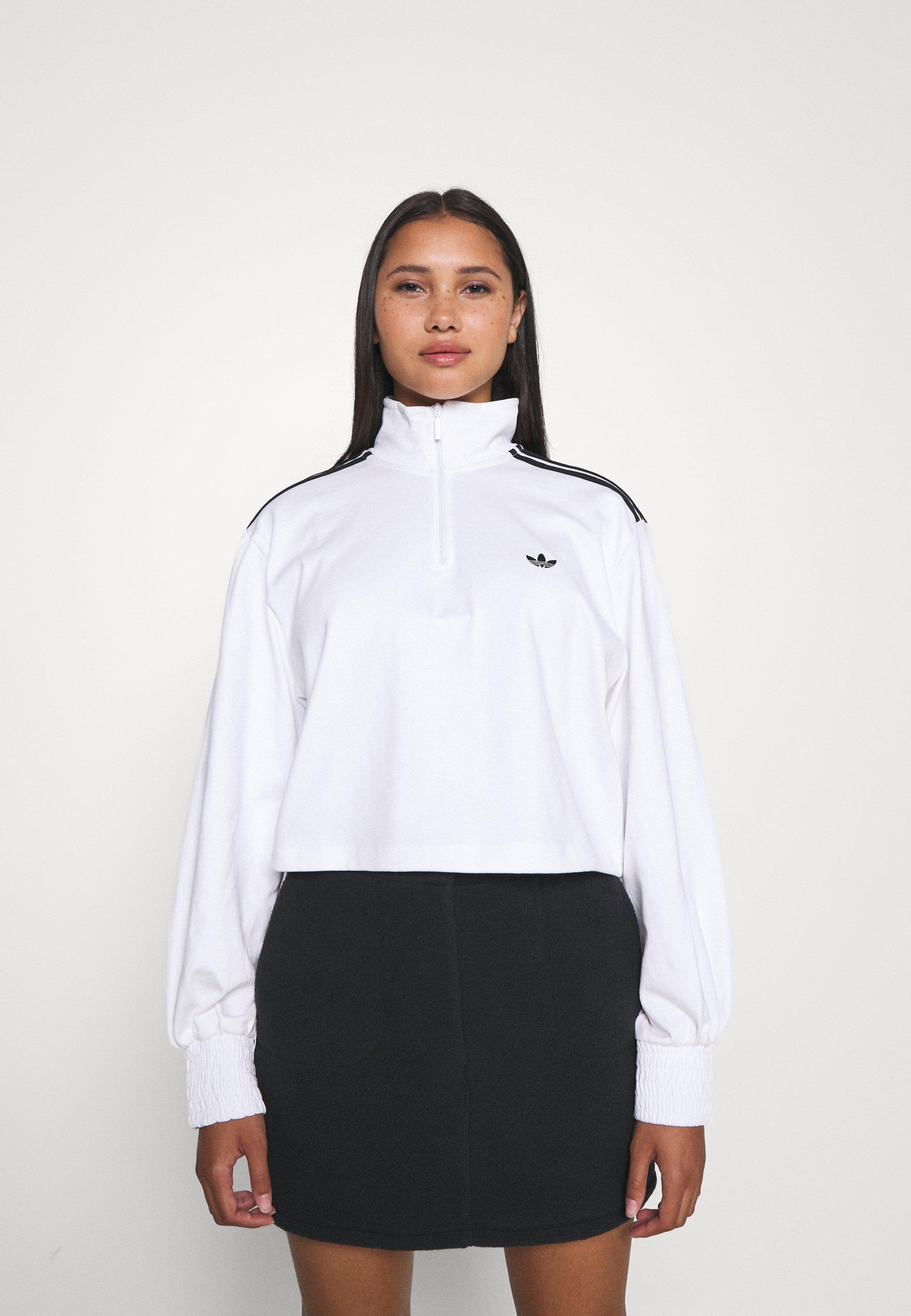 Women CROPPED HALFZIP - Sweatshirt