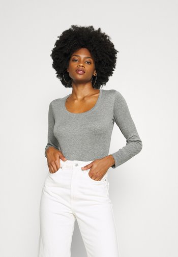 SORANA  - Long sleeved top - easy grey