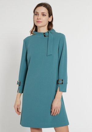 EFORIA - Jersey dress - petrol